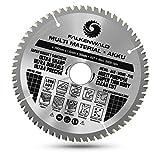 FALKENWALD® Hoja de sierra (190 x 30 mm, batería, ideal para madera, metal y aluminio, compatible con Bosch GKS 65, PKS 66 AF, 190 x 30 mm)