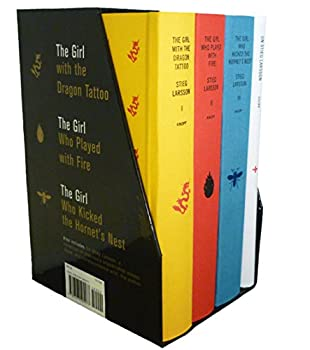 Stieg Larsson s Millennium Trilogy Deluxe Box Set  The Girl with the Dragon Tattoo The Girl Who Played with Fire The Girl Who Kicked the Hornet s Nest Plus On Stieg Larsson