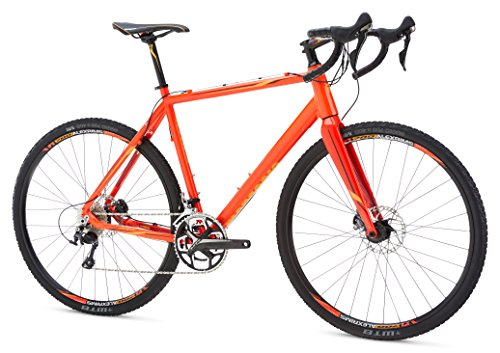 Mongoose Selous Expert Gravel Road Bike 700cm Wheel, Red, 58 cm/Large