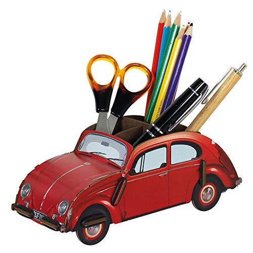 Werkhaus VW Classic Volkswagen Beetle Pencil Holder - Red