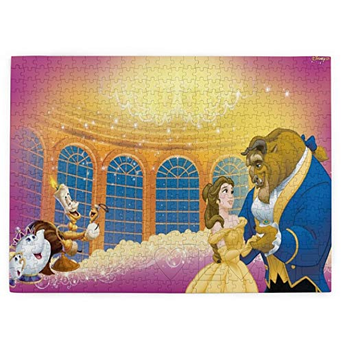Custom made Disney Beauty and The Beast - Rompecabezas para adultos (520 piezas, 520 piezas)