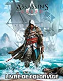 Assassin's Creed Livre de coloriage: Meilleur livre de coloriage pour les enfants, les adultes avec des images drôles et plus de 40