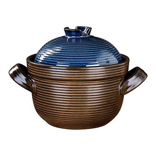 Handgemaakte 100% Loodvrije Marokkaanse Keramische Tagi Pan Gas Universele Hittebestendige Braadpan Voor Koken Steelpan Slow Cooker 3.5l