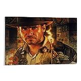 DRAGON VINES Póster de Indiana Jones 3 Profesor de Arqueología (60 x 90 cm)