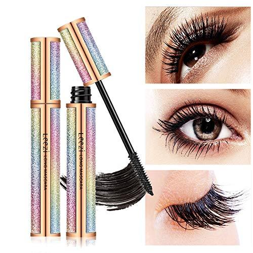 Wishwin 4D Silk Fibre Lash Mascara Starry Sky Curl Dicke Wimpern Intensive Länge Wasserdicht Wischfest Wimpern Makeups Mit Natürlicher Verlängerung