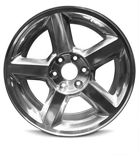Road Ready Car Wheel For 2007-2009 Chevrolet Avalanche 1500 Silverado 1500 Suburban 1500 Tahoe 20 Inch 6 Lug Silver Aluminum Rim Fits R20 Tire - Exact OEM Replacement - Full-Size Spare