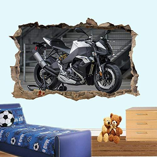 Yxsnow 3D Wandaufkleber Super motorcycles transfer 3D Wandtattoo Tapeten 3D- Selbstklebende Vinyl Wandsticker/Wandgemälde Kunst Aufkleber
