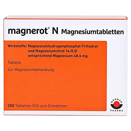 MAGNEROT N Magnesiumtabletten 200 St