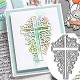 Religion Cross Shape Cutting Dies ,DIY Scrapbooking Artist Metal Cutting Dies Stencils Scrapbook Album Embossing for Gift Card Making Handcrafts 2019 New