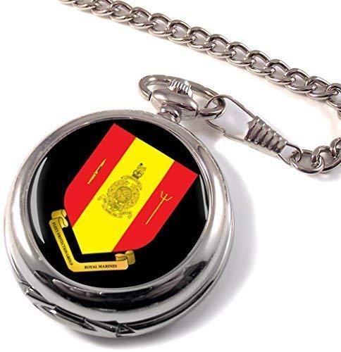 Grupo de protección de la Flota de la marina real Full Hunter reloj de bolsillo