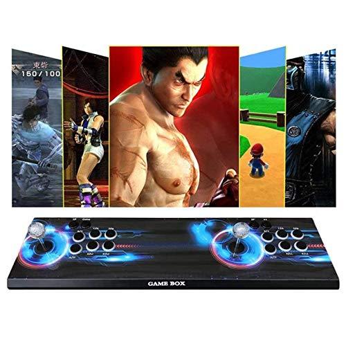 TANCEQI Arcade Game Console Pandora Box 3D, Compatible con Juegos 3D con clasificación Full HD Mejorada, Compatible con CPU PS3, PC, TV 2, sin Juegos, 8 Botones