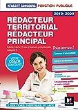 Réussite Concours - Rédacteur territorial/Rédacteur principal - 2019-2020 - Préparation complète