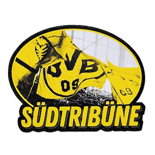 Borussia Dortmund Aufnäher - Südtribüne - Patch, Aufbügler, Aufnäher BVB 09 - Plus Lesezeichen I Love Dortmund