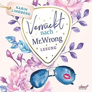 Verrückt nach Mr. Wrong audiobook cover art