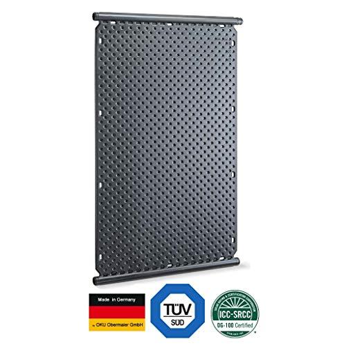 well2wellness® – Calentador Solar para Piscina, con Tubo colector, diámetro de 40 mm