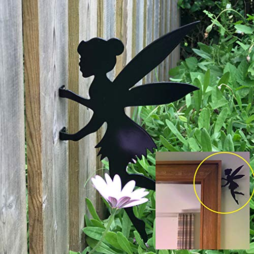 Steel Images Fairy Tinkerbell Fence Topper