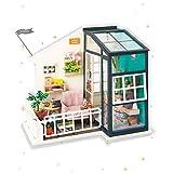 Rolife - Kit de casa de muñecas en Miniatura de Madera, puzle de casa 3D, decoración Creativa de habitación con Muebles y LED, Balcón