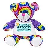 Bedtime Prayer Teddy Bears by RGU (Tie Dye)