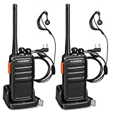 FLOUREON Talkie Walkie 16 Canaux 2-Way Radio Longue Portée Rechargeable Radios...