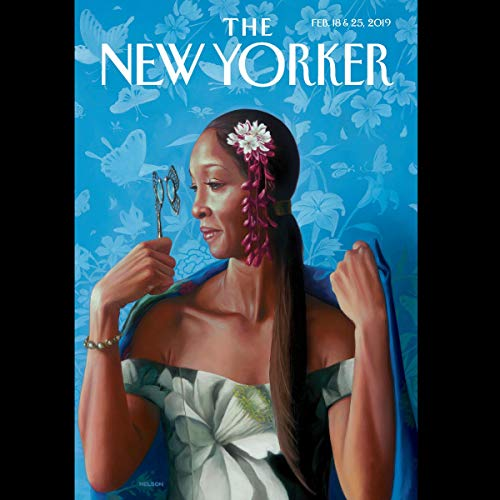 Couverture de The New Yorker, February 18th and 25th 2019: Part 1 (Jeffrey Toobin, Ian Frazier, Jill Lepore)