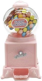 Schneespitze Candy Grabber avec,Distributeur De Chewing Gum,Distributeur de Bonbons Rose Mignon,Machine à Bonbons Tordue D...
