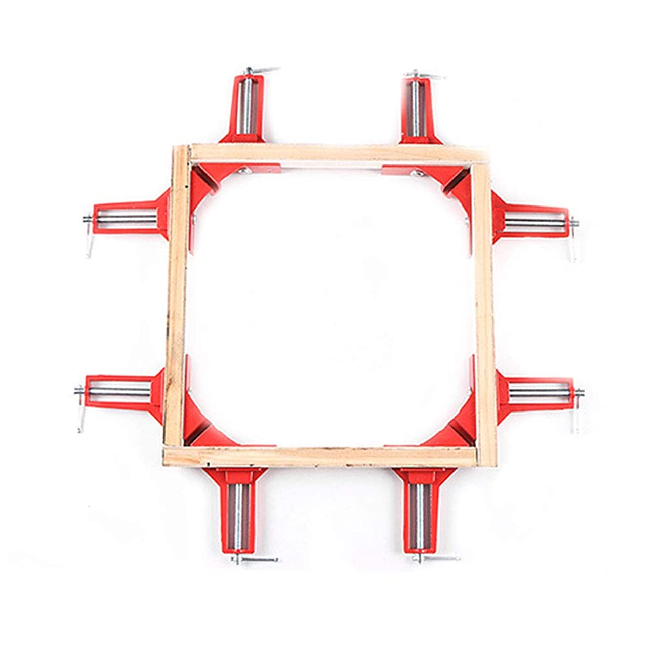 変装資格情報ボクシングNerhaily コーナー クランプ 90° 直角 木工定規 直角定規 直角クランプ DIY 工具 クランプ