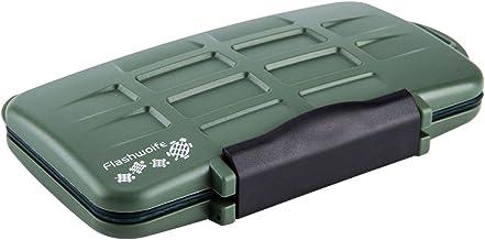 Flashwoife Turtle-SD12MSD24G - Survival Edition - spritzwasserdichte Speicherkarten Schutzbox für 12 Stück SDHC und 24 Stü...