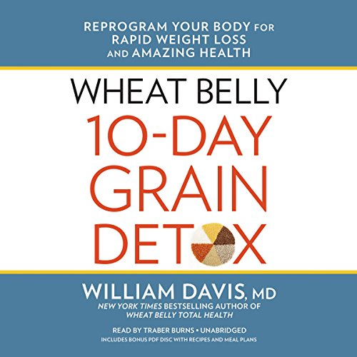 Wheat Belly 10-Day Grain Detox audiobook cover art