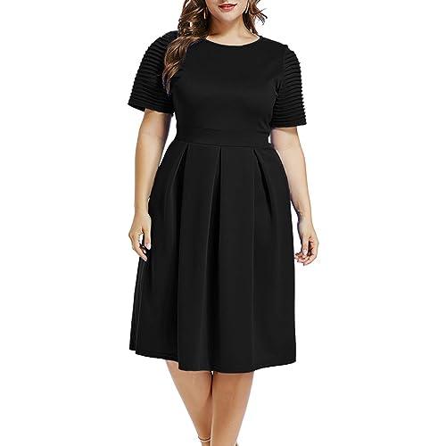 Plus Size 1950s Vintage Dresses: Amazon.com