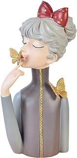 Lurrose Estátua de Resina Figurines Menina Pestana Pestana Mannequin da Exposição Exposição Carrinho de Exposição Modelo B...