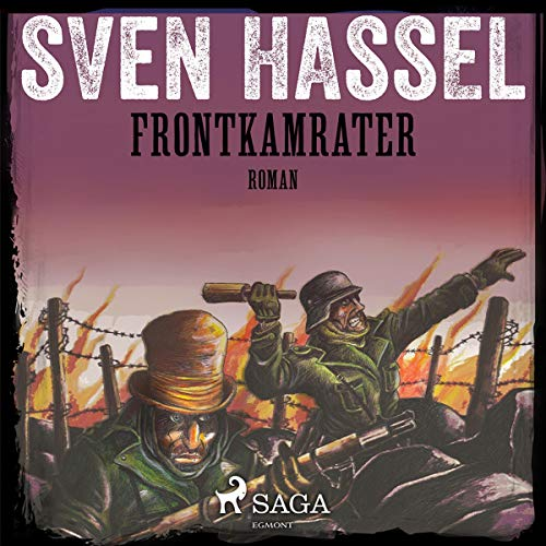 Frontkamrater audiobook cover art