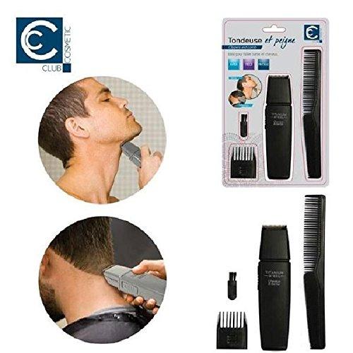 Tondeuse et Peigne Barbe et Cheveux - Taille Sabot Hygiene - 174