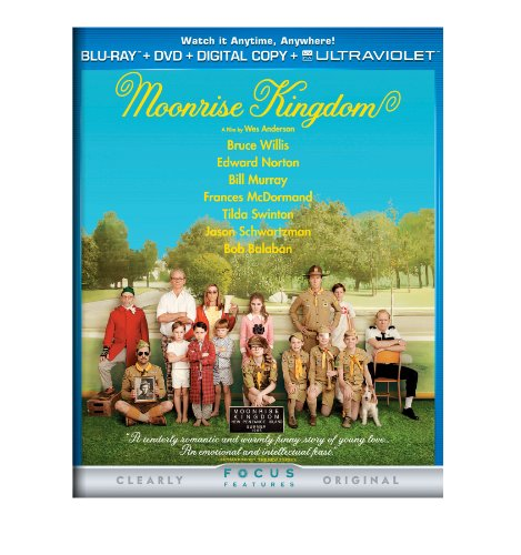 Moonrise Kingdom [Blu-ray] -  Rated PG-13, Wes Anderson, Bruce Willis