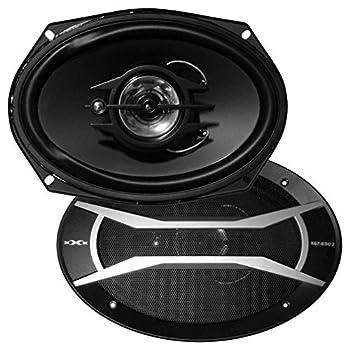Audiopipe XGT6903 Speaker 6x9 3-way Xxx  400w  Butyl Surrnd