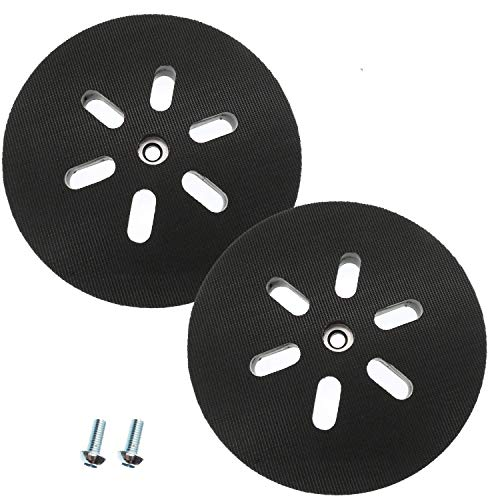 6 inch Sanding Pad for Bosch Sander 3727DVS 3727DEVS 1250DEVS ROS65VC,Replacement Hook and Loop Sanding Backing Pad Pack of 2