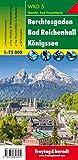 Berchtesgaden - Bad Reichenhall - Königssee, Wanderkarte 1:25.000 (freytag & berndt Wander-Rad-Freizeitkarten) - Freytag-Berndt und Artaria KG