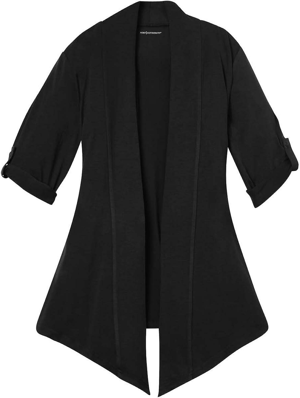 Port Authority L543 Ladies Concept Shrug - Black - XXXX-Large