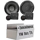 JBL GX600C   2-Wege   16,5cm Lautsprecher System - Einbauset für VW Bus T5 Front - JUST SOUND best choice for caraudio