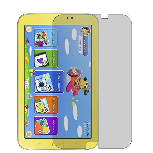 Vaxson Protector de Pantalla de Privacidad, compatible con Samsung Galaxy Tab 3 Kids Edition 7' [no vidrio templado] TPU Película Protectora Anti Espía