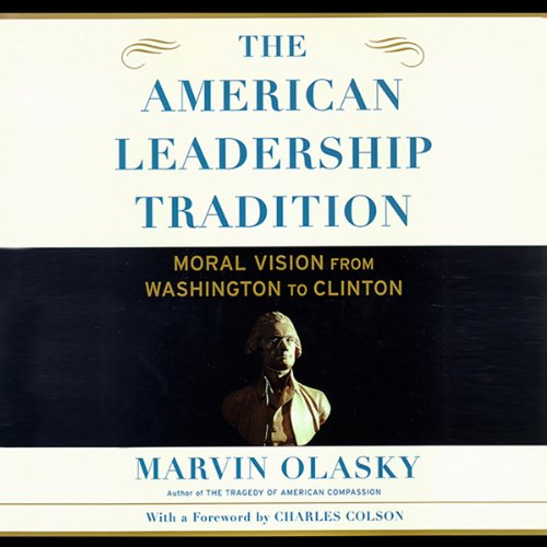 The American Leadership Tradition audiobook cover art