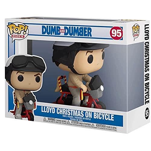 Jokoy Funko Pop Ride : Dumb & Dumber - Lloyd Christmas on Bicycle 3.75inch Vinyl Gift for Movies Fans Chibi