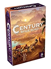 Introducing century, a series of exciting and wonderfully addictive stand alone, mixable games Each title is set in different centuries, from the 15th   17th, and depicts the trading systems and routes of these eras Century: Spice Road is the first t...