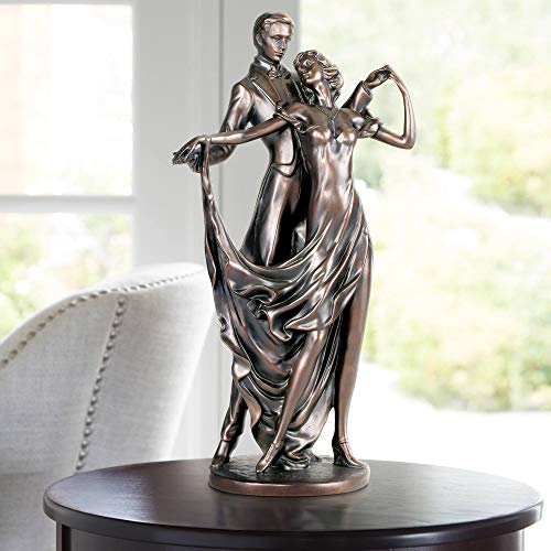 Dancing Lovers Traditional Accent Sculpture