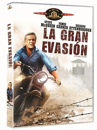La Gran Evasion [DVD]: Amazon.es: Steve Mcqueen, James Coburn ...
