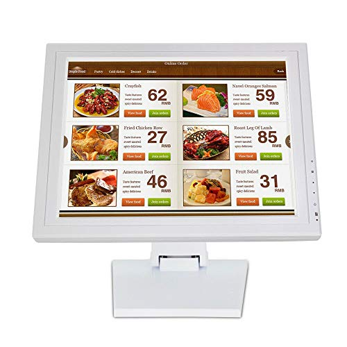15'' touchscreen monitor LED kassasysteem LCD-display HDMI-interface VGA POS kassaregister voor verkoop