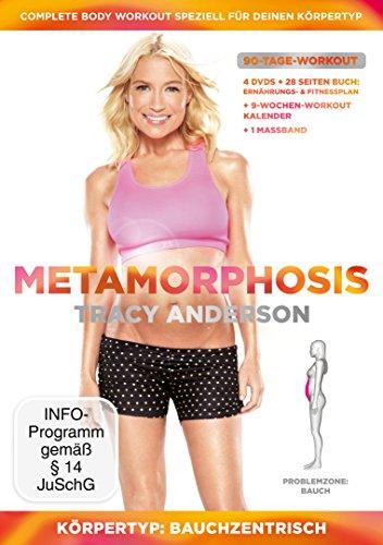 Tracy Anderson - Metamorphosis, Körpertyp: Bauchzentrisch, Problemzone: Bauch [4 DVDs]