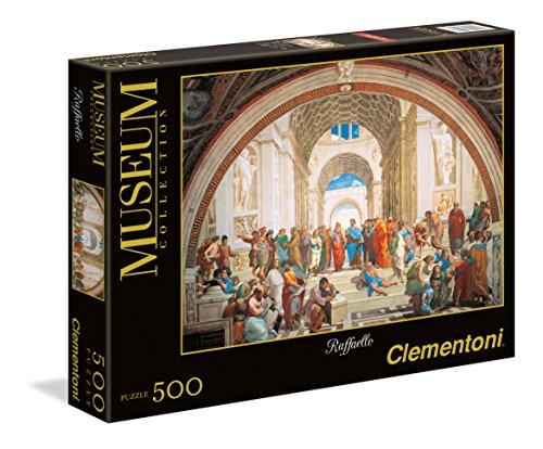 Puzzle Vaticano 500 Piezas raffaello: scuola di atene (35043)