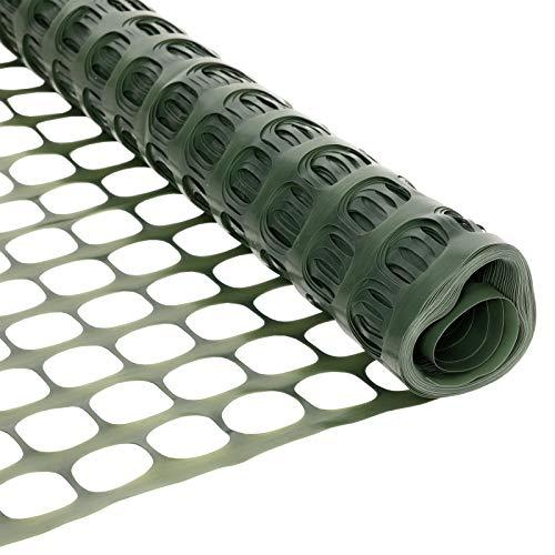 VINGLI 4x100 Feet Garden Netting Fence, Multi-Purpose Patio Safety...