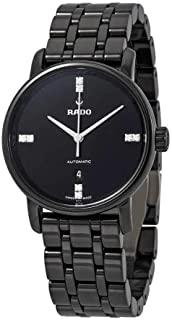 Rado DiaMaster Automatic Diamond Black Analog Watch for Women R14043717