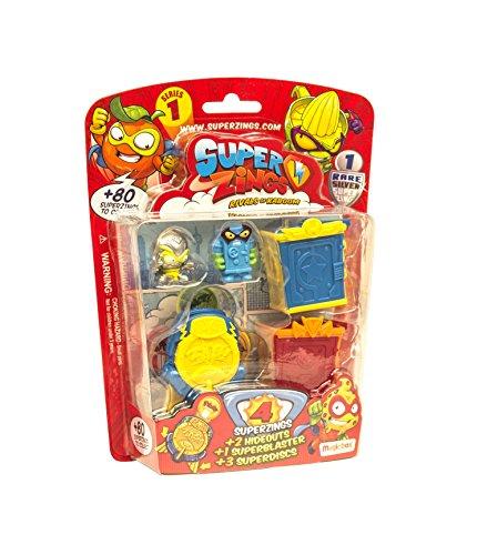 Superzings Series 3 Mega Pack superslider 4x figures
